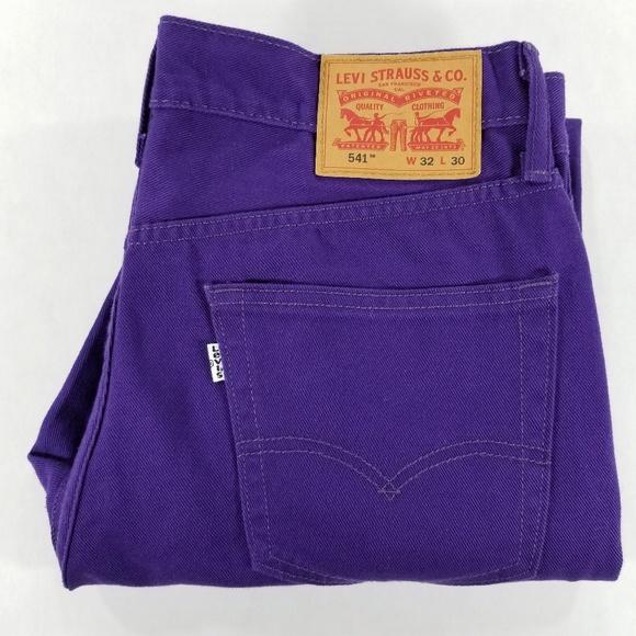 Levi's Other - Levis 541 32x30 Purple Jeans